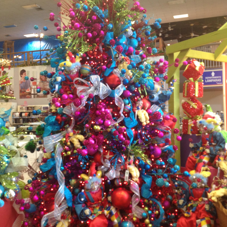 Decoracion navide a decoremos con kiki - Arboles de navidad colores ...